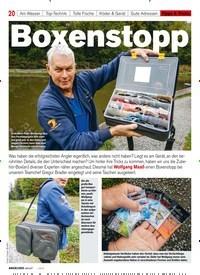 Titelbild der Ausgabe 10/2019 von Boxenstopp. Zeitschriften als Abo oder epaper bei United Kiosk online kaufen.