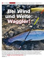 Titelbild der Ausgabe 20/2019 von Bei Wind und Weite: Waggler. Zeitschriften als Abo oder epaper bei United Kiosk online kaufen.