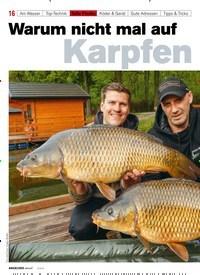 Titelbild der Ausgabe 50/2019 von Warum nicht mal auf Karpfen. Zeitschriften als Abo oder epaper bei United Kiosk online kaufen.