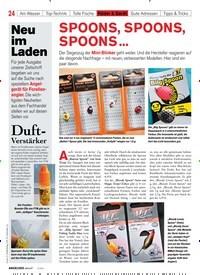 Titelbild der Ausgabe 20/2020 von SPOONS, SPOONS, SPOONS …. Zeitschriften als Abo oder epaper bei United Kiosk online kaufen.