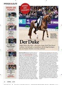 Titelbild der Ausgabe 20/2019 von PFERDE & LEUTE: PFERD DES MONATS: Der Duke. Zeitschriften als Abo oder epaper bei United Kiosk online kaufen.