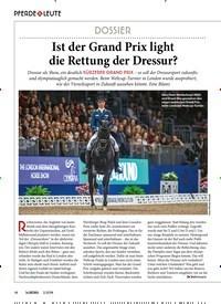 Titelbild der Ausgabe 20/2019 von PFERDE & LEUTE: DOSSIER: Ist der Grand Prix light die Rettung der Dressur?. Zeitschriften als Abo oder epaper bei United Kiosk online kaufen.