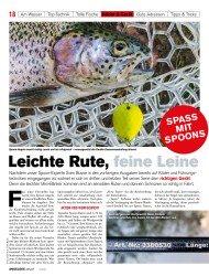 Titelbild der Ausgabe 20/2019 von Leichte Rute, feine Leine. Zeitschriften als Abo oder epaper bei United Kiosk online kaufen.