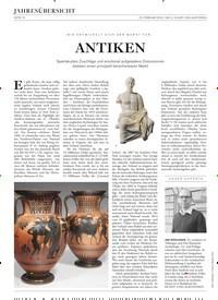 Titelbild der Ausgabe 3/2019 von ANTIKEN. Zeitschriften als Abo oder epaper bei United Kiosk online kaufen.