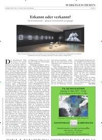 Titelbild der Ausgabe 4/2019 von Erkannt oder verkannt?. Zeitschriften als Abo oder epaper bei United Kiosk online kaufen.