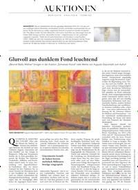 Titelbild der Ausgabe 4/2019 von Glutvoll aus dunklem Fond leuchtend. Zeitschriften als Abo oder epaper bei United Kiosk online kaufen.