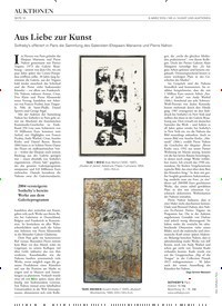 Titelbild der Ausgabe 4/2019 von Aus Liebe zur Kunst. Zeitschriften als Abo oder epaper bei United Kiosk online kaufen.