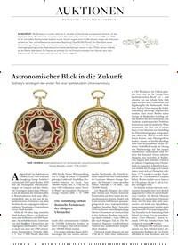 Titelbild der Ausgabe 11/2019 von Astronomischer Blick in die Zukunft. Zeitschriften als Abo oder epaper bei United Kiosk online kaufen.