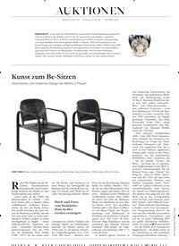 Titelbild der Ausgabe 13/2019 von Kunst zum Be-Sitzen. Zeitschriften als Abo oder epaper bei United Kiosk online kaufen.