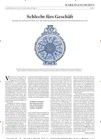 Titelbild der Ausgabe 16/2019 von Schlecht fürs Geschäft. Zeitschriften als Abo oder epaper bei United Kiosk online kaufen.