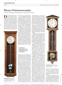 Titelbild der Ausgabe 16/2019 von Wiener Präzisionswunder. Zeitschriften als Abo oder epaper bei United Kiosk online kaufen.