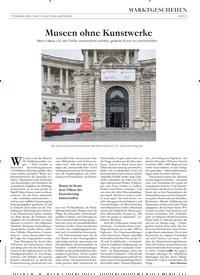 Titelbild der Ausgabe 2/2020 von Museen ohne Kunstwerke. Zeitschriften als Abo oder epaper bei United Kiosk online kaufen.