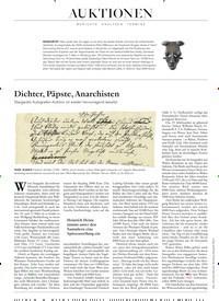 Titelbild der Ausgabe 3/2020 von BERICHTE ANALYSEN TERMINE: Dichter, Päpste, Anarchisten. Zeitschriften als Abo oder epaper bei United Kiosk online kaufen.