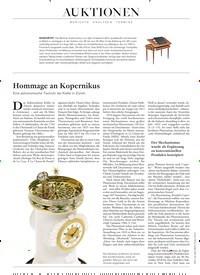 Titelbild der Ausgabe 4/2020 von Hommage an Kopernikus. Zeitschriften als Abo oder epaper bei United Kiosk online kaufen.