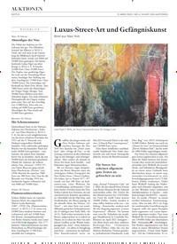 Titelbild der Ausgabe 4/2020 von Luxus-Street-Art und Gefängniskunst. Zeitschriften als Abo oder epaper bei United Kiosk online kaufen.