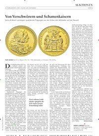 Titelbild der Ausgabe 3/2019 von Von Verschwörern und Schattenkaisern. Zeitschriften als Abo oder epaper bei United Kiosk online kaufen.