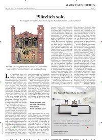 Titelbild der Ausgabe 11/2019 von MARKTGESCHEHEN: Plötzlich solo. Zeitschriften als Abo oder epaper bei United Kiosk online kaufen.