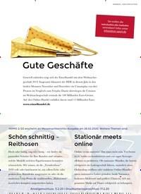 Titelbild der Ausgabe 1/2020 von Gute Geschäfte. Zeitschriften als Abo oder epaper bei United Kiosk online kaufen.