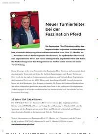 Titelbild der Ausgabe 3/2020 von NAMEN   NACHRICHTEN; Neuer Turnierleiter bei der Faszination Pferd. Zeitschriften als Abo oder epaper bei United Kiosk online kaufen.