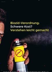 Titelbild der Ausgabe 3/2020 von INSEKTENSCHUTZ: Biozid-Verordnung: Schwere Kost? Verstehen leicht gemacht. Zeitschriften als Abo oder epaper bei United Kiosk online kaufen.