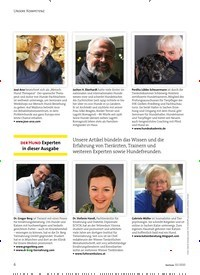 Titelbild der Ausgabe 2/2020 von UNSERE KOMPETENZ: DER HUND Experten in dieser Ausgabe. Zeitschriften als Abo oder epaper bei United Kiosk online kaufen.