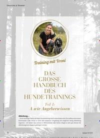 Titelbild der Ausgabe 4/2020 von Training mit Vroni: DAS GROSSE HANDBUCH DES HUNDETRAININGS Teil 1: A wie Angeberwissen. Zeitschriften als Abo oder epaper bei United Kiosk online kaufen.