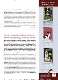 Titelbild der Ausgabe 2/2021 von Meine Hündin fürchtet sich plötzlich vor ihrem Futternapf. Wie helfe ich ihr?. Zeitschriften als Abo oder epaper bei United Kiosk online kaufen.