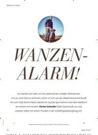 Titelbild der Ausgabe 3/2021 von MENSCH & HUND: WANZEN-ALARM!. Zeitschriften als Abo oder epaper bei United Kiosk online kaufen.