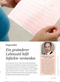 Titelbild der Ausgabe 5/2019 von Herzgesundheit: Ein gesünderer Lebensstil hilft Infarkte vermeiden. Zeitschriften als Abo oder epaper bei United Kiosk online kaufen.