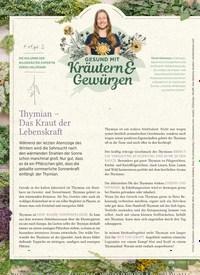 Titelbild der Ausgabe 1/2020 von Thymian - Das Kraut der Lebenskraft. Zeitschriften als Abo oder epaper bei United Kiosk online kaufen.
