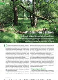 Titelbild der Ausgabe 2/2019 von Wildnis neu denken: Zu Besuch bei den Weinzierls in Wiesenfelden. Zeitschriften als Abo oder epaper bei United Kiosk online kaufen.