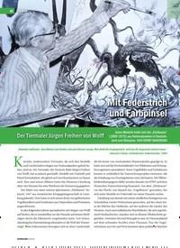 Titelbild der Ausgabe 3/2019 von Mit Federstrich und Farbpinsel. Zeitschriften als Abo oder epaper bei United Kiosk online kaufen.