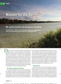 Titelbild der Ausgabe 3/2019 von Wasser für die Au. Zeitschriften als Abo oder epaper bei United Kiosk online kaufen.