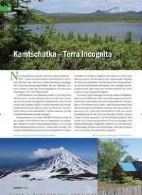 Titelbild der Ausgabe 4/2019 von Kamtschatka – Terra Incognita: Eine Reise ins Land der Vulkane, Lachse und Bären. Zeitschriften als Abo oder epaper bei United Kiosk online kaufen.