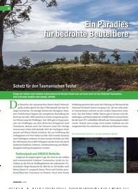 Titelbild der Ausgabe 1/2020 von Ein Paradies für bedrohte Beuteltiere. Zeitschriften als Abo oder epaper bei United Kiosk online kaufen.