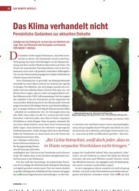 Titelbild der Ausgabe 1/2020 von Das Klima verhandelt nicht. Zeitschriften als Abo oder epaper bei United Kiosk online kaufen.