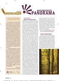 Titelbild der Ausgabe 3/2019 von NATURSCHUTZ PANORAMA. Zeitschriften als Abo oder epaper bei United Kiosk online kaufen.