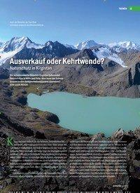 Titelbild der Ausgabe 3/2019 von Ausverkauf oder Kehrtwende? Naturschutz in Kirgistan. Zeitschriften als Abo oder epaper bei United Kiosk online kaufen.