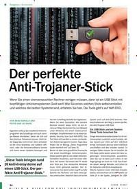 Titelbild der Ausgabe 5/2018 von Sicherheit: Der perfekte Anti-Trojaner-Stick. Zeitschriften als Abo oder epaper bei United Kiosk online kaufen.