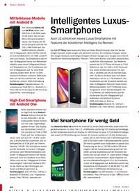 Titelbild der Ausgabe 7/2018 von Mobile: Intelligentes Luxus-Smartphone. Zeitschriften als Abo oder epaper bei United Kiosk online kaufen.