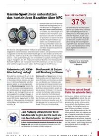 Titelbild der Ausgabe 8/2018 von Garmin-Sportuhren unterstützen das kontaktlose Bezahlen über NFC. Zeitschriften als Abo oder epaper bei United Kiosk online kaufen.