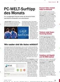 Titelbild der Ausgabe 8/2018 von Internet: PC-WELT-Surftipp des Monats. Zeitschriften als Abo oder epaper bei United Kiosk online kaufen.