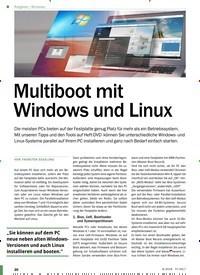Titelbild der Ausgabe 9/2018 von Windows: Multiboot mit Windows und Linux. Zeitschriften als Abo oder epaper bei United Kiosk online kaufen.