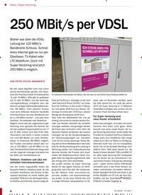 Titelbild der Ausgabe 10/2018 von Super Vectoring: 250 MBit/s per VDSL. Zeitschriften als Abo oder epaper bei United Kiosk online kaufen.