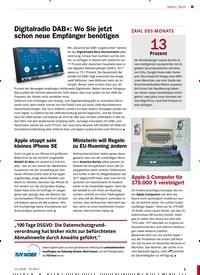 Titelbild der Ausgabe 11/2018 von Ministerin will Regeln zu EU-Roaming ändern. Zeitschriften als Abo oder epaper bei United Kiosk online kaufen.