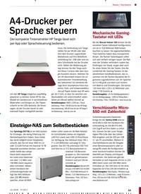 Titelbild der Ausgabe 12/2018 von Hardware: A4-Drucker per Sprache steuern. Zeitschriften als Abo oder epaper bei United Kiosk online kaufen.