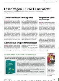 Titelbild der Ausgabe 1/2019 von Alternative zu Wegwerf-Mailadressen. Zeitschriften als Abo oder epaper bei United Kiosk online kaufen.