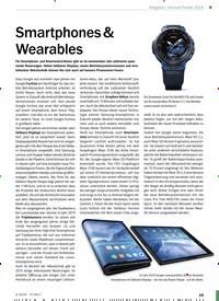 Titelbild der Ausgabe 2/2019 von Technik-Trends 2019: Smartphones & Wearables. Zeitschriften als Abo oder epaper bei United Kiosk online kaufen.