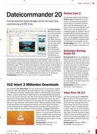 Titelbild der Ausgabe 3/2019 von Software: Dateicommander 20. Zeitschriften als Abo oder epaper bei United Kiosk online kaufen.