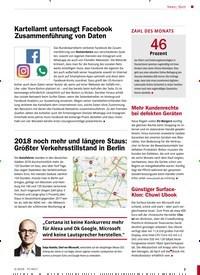 Titelbild der Ausgabe 4/2019 von Bunt: Kartellamt untersagt Facebook Zusammenführung von Daten. Zeitschriften als Abo oder epaper bei United Kiosk online kaufen.